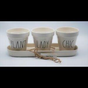 Rae Dunn Chic Plant Lady Planter